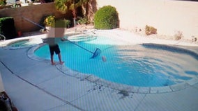 Shocking video captures young Victorville boy trying to drown dog in pool