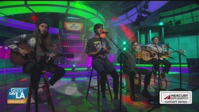 Drax Project performs live on Good Day LA + backstage interview