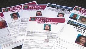 FBI intensifies search for 12 violent criminals