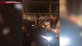 Uber driver bitten, attacked by woman on street