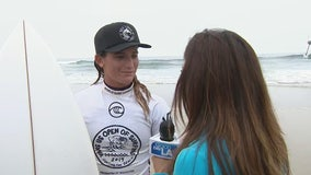 O.C. native Courtney Conlogue looks to defend title at Vans US Open of Surfing