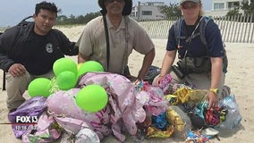 Balloon releases pose threat to wildlife, experts say