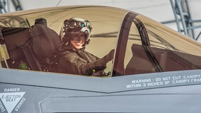 Helicopter pilot becomes first female Marine to pilot F-35 jet