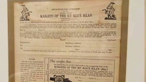 Michigan police officer on leave after KKK items found in home