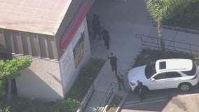 2 people in custody in attempted bank robbery at Glendale Bank of America