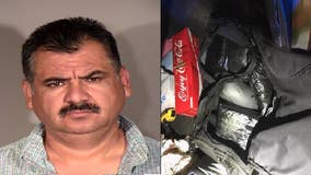Man arrested after Ventura County deputy discovers 67 pounds of meth inside his vehicle
