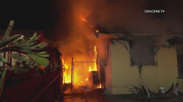 1 killed, 1 critically injured in Exposition Park house fire