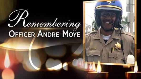 Memorial service to be held for fallen CHP officer Andre Moye Jr.