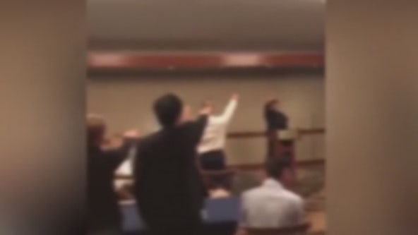Video purports to show students at Garden Grove school doing Nazi salute