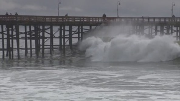 Swimmers, surfers warned as high surf pounds SoCal
