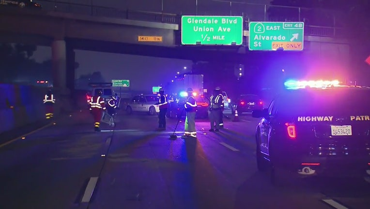 Body found on 101 Freeway temporary prompts lane closures