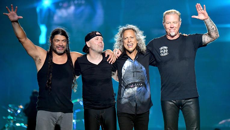 Metallica donates more than $277,000 to pediatric cancer