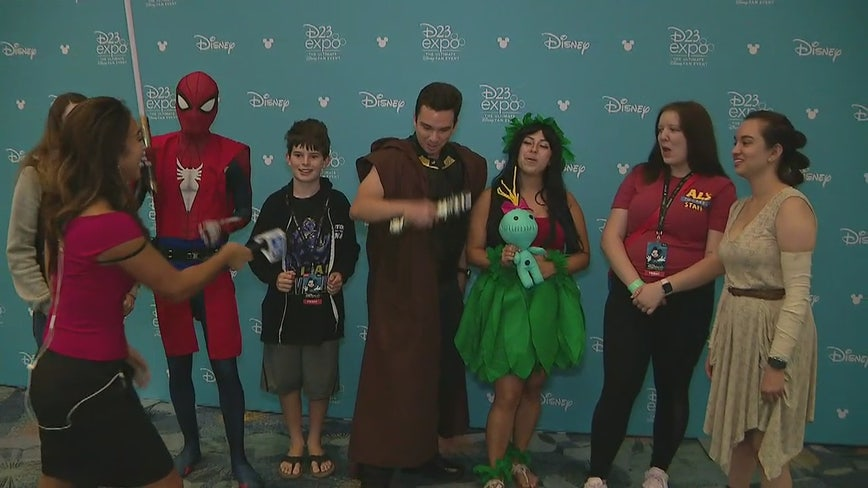 Biennial D23 Disney fan convention opens in Anaheim