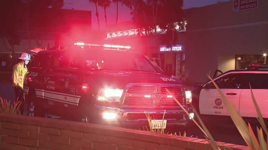 Fire officials investigate string of fires in Studio City