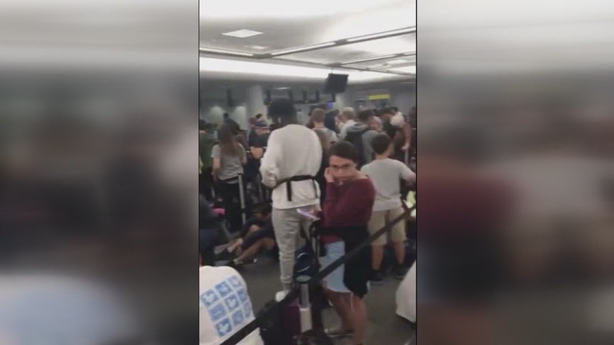 """""""This has been an absolute nightmare"""", Delta passengers stranded for two days after flights repeatedly canceled"""