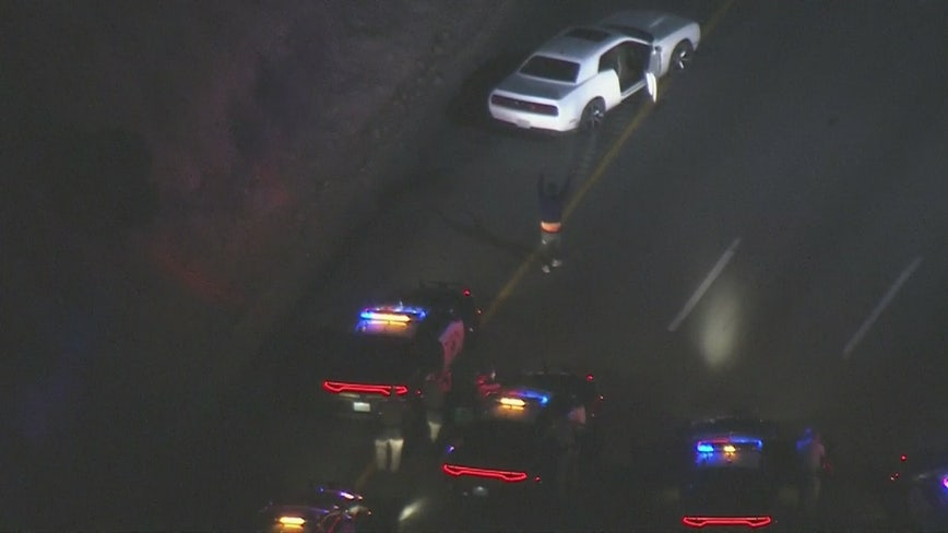 Car burglary suspects lead law enforcement on high speed chase through L.A. County