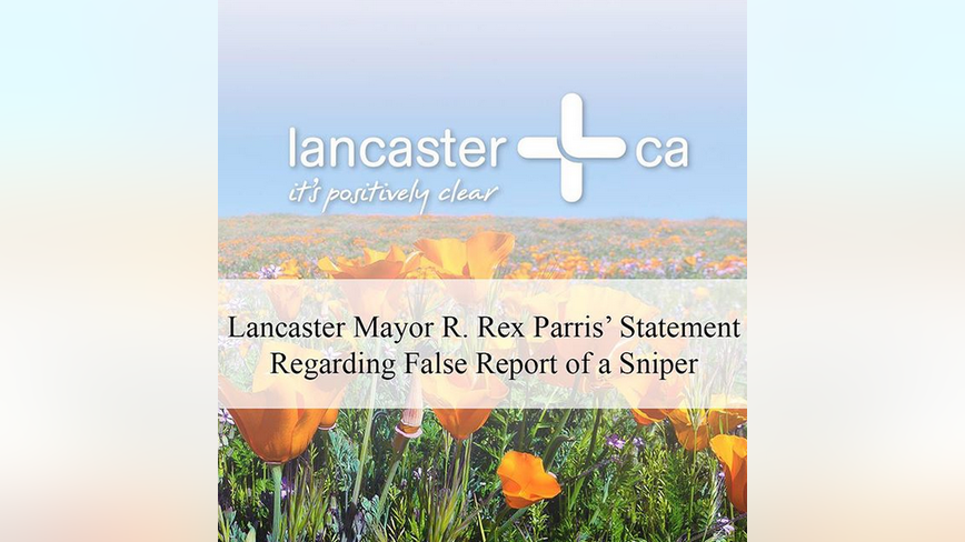 City of Lancaster issues response after deputy admitted to making up shooting story