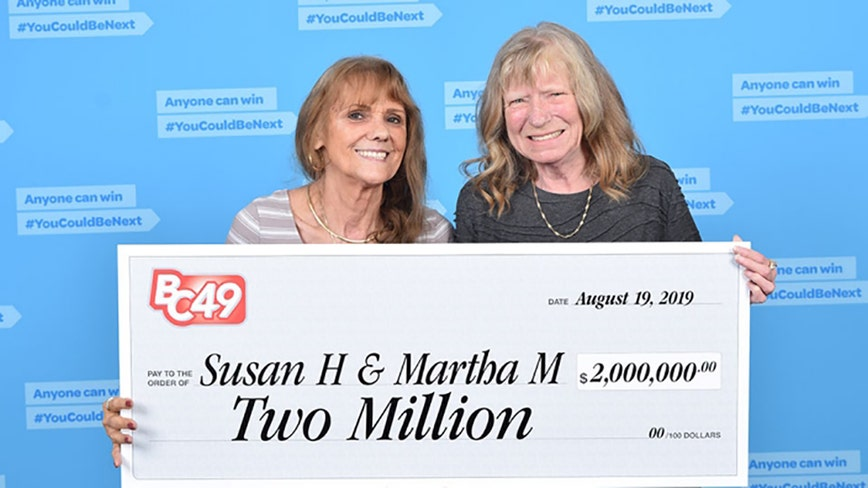 Best friends of 50 years buy lotto ticket, win $2 million