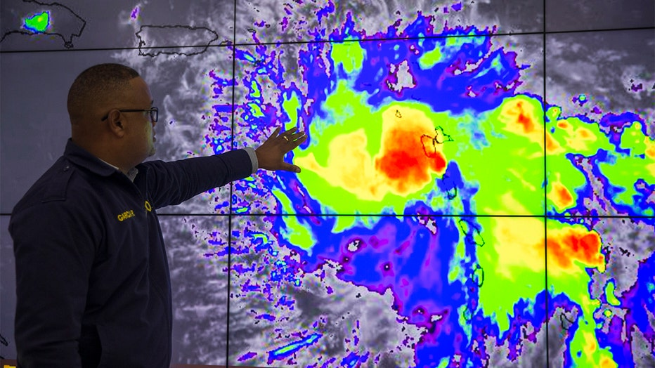 Hurricane Dorian: Get a live look from Puerto Rico's