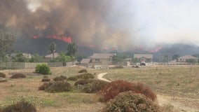 Firefighters make progress on Tenaja Fire burning near Murrieta; evacuation orders lifted