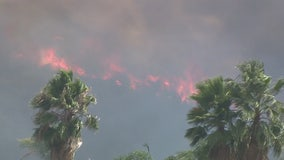Schools closed, more evacuations issued as firefighters battle wildfire in La Cresta