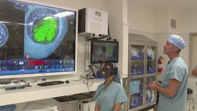 O.C. hospital uses virtual reality headsets, controllers to help save lives