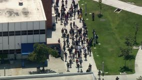 Suspect detained after bomb threat prompts 'shelter-in-place' at Cerritos College campus