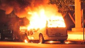 Arson investigation underway in Long Beach after three suspicious fires