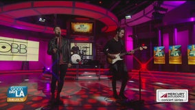 OBB performs live on Good Day LA + backstage interview