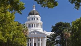 Woman arrested after throwing liquid on California senators