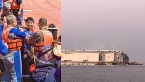 4th and final crew member rescued off capsized ship