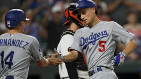 Dodgers win seventh consecutive division championship