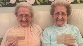 95-year-old twins credit Guinness, 'no sex' to longevity