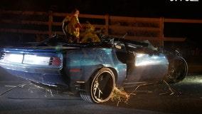 Kevin Hart suffers 'major back injuries' in Malibu Hills car crash: report