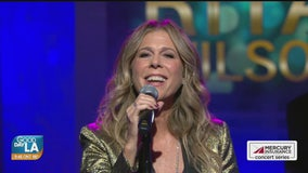 Rita Wilson performs live on Good Day LA + backstage interview
