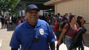 School Standouts: Santa Ana High School security guard goes above and beyond for students