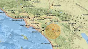 3.9-magnitude earthquake strikes Riverside County 4 miles northwest of Murrieta