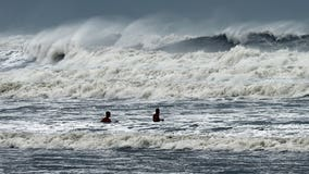 Hurricane Dorian strengthens back to Category 3 as it nears US coast; near-record storm surge feared