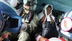 Coast Guard rescues continue in Bahamas