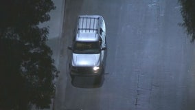 Pursuit ends in Sylmar with suspect surrendering to LAPD