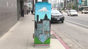 How you can paint your own mural on a utility box in Los Angeles