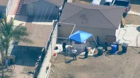 Investigation underway in Fontana after man's body found in water tank