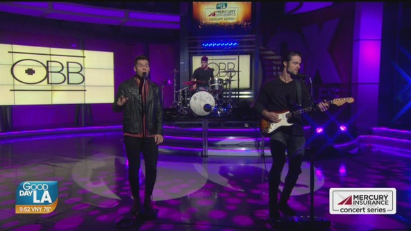 OBB performs live on Good Day LA