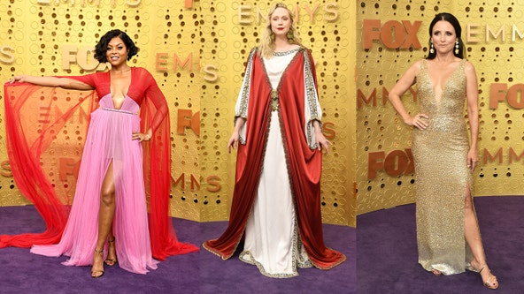 Red, pink and glittering gold: The hottest looks from the 71st Emmy Awards purple carpet