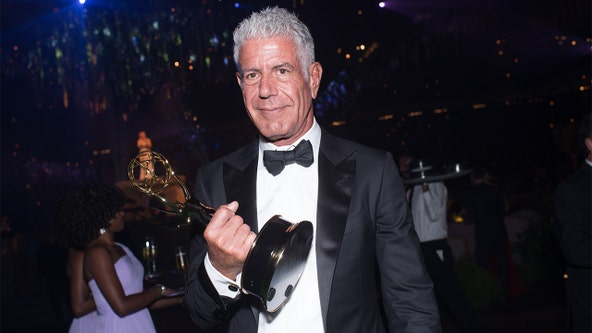 Anthony Bourdain wins 2 posthumous Emmy Awards for 'Parts Unknown'