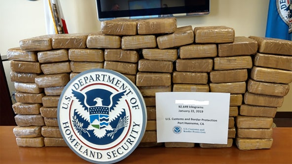 Millions of dollars worth of cocaine seized from Port of Hueneme