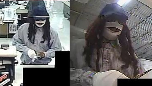 FBI searching for 'Mummy Marauder' who robbed Houston bank on Friday the 13th