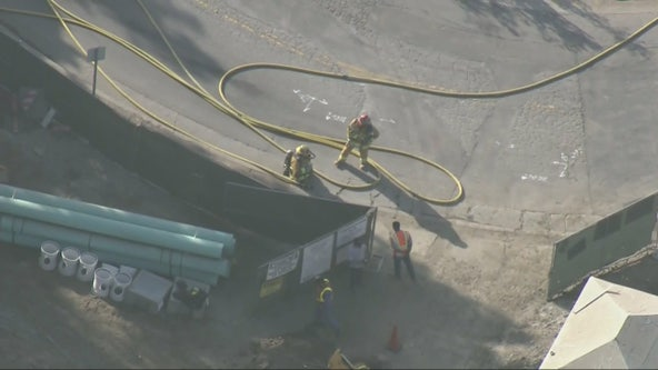 Gas leak at Pacific Palisades construction site prompts evacuations, shelter-in-place