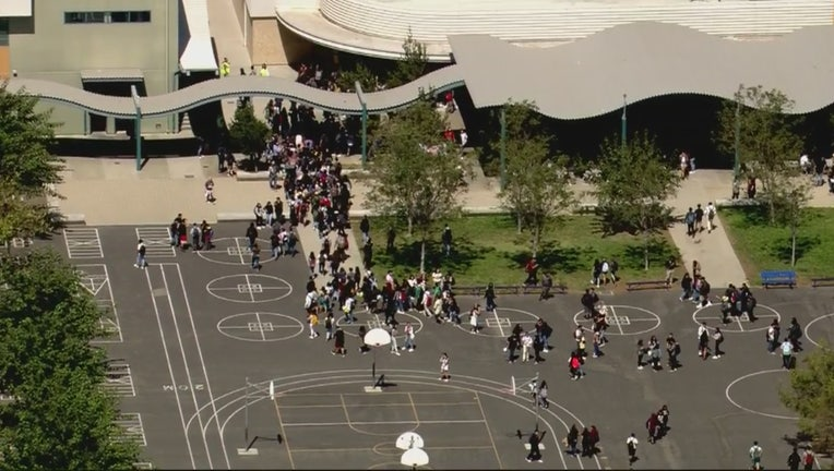 Students, Staff Evacuated From Panorama, Cal Burke High