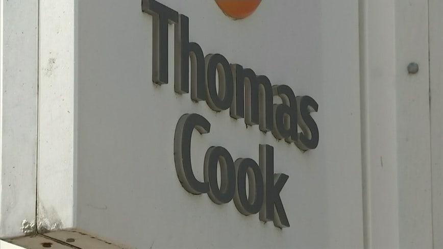 Travelers stranded, jobs lost as UK firm Thomas Cook collapses